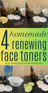 4 DIY Renewing Face Toner
