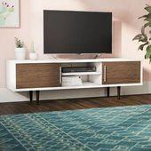Deville Tv Stand For Tvs Up To 65 Reviews Allmodern Living Room Furniture Tables Tv Stand Plasma Tv Stands