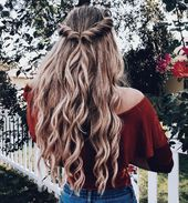 Ombre hair Pinterest // carriefiter // 90s style road put on road model phot…