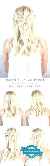 15 Half-high, half-down hairstyles for long hair These half-high, half-down hairstyles …