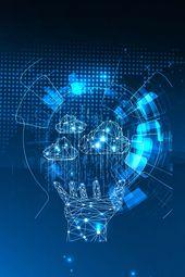 Business Blue Technology Internet Big Data Data