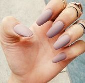 MATTE NAIL POLISH | Nude Brown