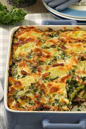 Kale and potato bake