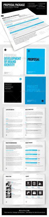 Sleman Clean Proposal Template Volume 3 Proposal templates - microsoft proposal templates