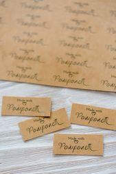 Ein DIY für selbstgemachte Labels und die Lieblingsfarbe Mint