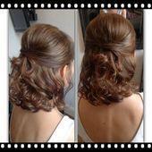 Soft half high half down fine hair  wedding hairstyles  #fine #hair ,  #Fine #Hair #hairstyle… –