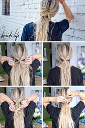 Simple summer hairstyle instructions in pictures – #instructions #pictures #simple #summer hairstyle