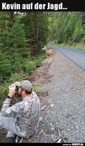 Kevin auf der Jagd…