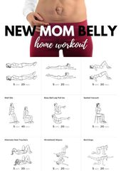 Baby loswerden Baby Gewicht, ohne viel durchmachen zu müssen New Mom Belly home