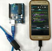 Learn How to Program Arduino Board by Using Smartphone