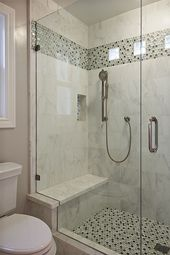 40 Beautiful Bathroom Shower Tile Design Ideas and Makeover (4