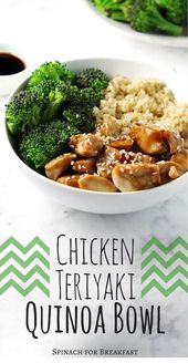 1c1a2bfba5d7db538417d69e695fd25b This CLEAN EATING | CHICKEN TERIYAKI QUINOA BOWL is Tasty and Yumm!!! Just CLICK...