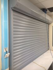 Rsg5700 1hr Fire Rated Roller Shutter Fitted To Paxton Primary School In South London Roller Shutters Shutters Rolling Shutter