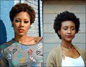 Schwarze Frauen kurze Afro-Frisuren, der Haupttrend zu sein – #AfroFrisuren #Der #frauen #frisuren #haupttrend