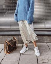 Wie man einen Pullover kombiniert und wie eine ernsthafte Person aussieht – #von…
