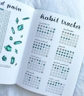 15 Clever Habit Tracker Bullet Journal Ideas To Finally Break Bad Habits