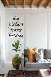 Einfaches Formen von DIY-Bilderrahmen, das Ihrem Zuhause so viel Charakter verleiht!