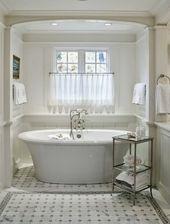 Werten Sie Ihre Zimmer mit Gardinen auf ~ Schneiderei-Ideen für Zuhause, Wohndesign, Zuhause …   – Masterbathroom