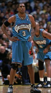 12f3dff72ae Shareef Abdur-Rahim Vancouver Grizzlies Authentic Champion Jersey 40 NWT  from DFRNSH8