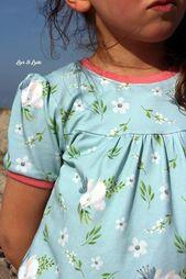 Schnittmuster T-Shirt für Mädchen
