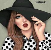 1c6833e64f16bdf73eb2edf230637911 - عکس پروفایل دخترونه اسپرت با کلاه 98 جدید