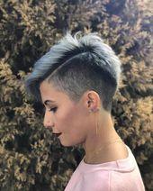 30 Hübsche Haarschnitte für kurzes Haar 2019