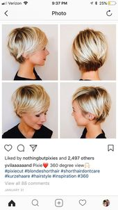 Long pixie haircut – all angles – #angles #austral…