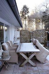 Dreams Come True: Winter Impressionen aus unserem Garten und ein paar gute Grün… – Winterzauber