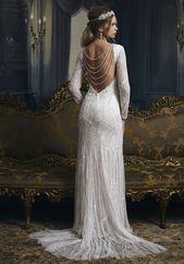 Treffen Sie die & # 39; Dorothy & # 39; Hochzeitskleid von Eliza Jane Howell mit einer Schlucht …   – Wedding