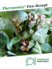 Feldsalat mit Walnussdressing – Thermomix