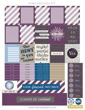 Free Printable Planner Stickers: Best is Yet to Come | Mini Van Dreams