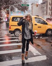 What to wear in New York in the winter # wear #winter