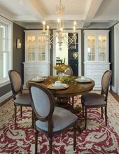 Storage Furniture, Placement Ideas for Modern Dining Room Decorating