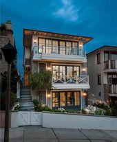 Manhattan Beach Walk-Street Cape Modern Home With Attractive Outdoor Patio   – Arquítectura