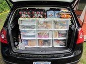 Pinner sa: Det här är mitt campingskafferi. Allt jag behöver är lättillgängligt och …