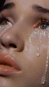 #tumblr #glitter #tränen #ästhetisch #glatt #cl … –
