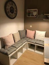 Kallax shelf corner bench – #back bench #Kallax #shelf – Robert