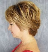 Golden Blonde Long Pixie Bob mit Volumen, #blond #bob #golden #hairbangsside #lang #Pixie …