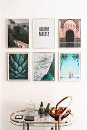 Desenio Poster und Deko Ideen – 23timezones Lifestyle Blog – Bilderrahmen Ideen
