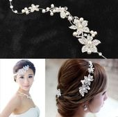 Women Wedding Flower Beauty Crystal Headband Fashion Hair Accessories Clip for sale online | eBay – cabello