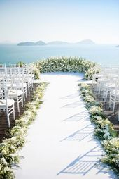 The hottest wedding trends: 22 semicircle wedding altars