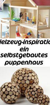 Spielzeug-inspiration: ein selbstgebautes puppenhaus aus holz