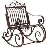 metal rocking chair rocking chair