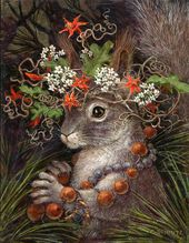 Wild Hats – Mountain and Desert Critters with Hats of Native Plants