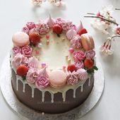 Kuchen tropft – Kuchen – #Cakes #Cakes #drops   – Torten