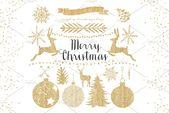 Gold Weihnachten Clipart, #AFFILIATE, # Digital # schöne # Elemente # Weihnachten #Ad   – Holiday Decoration Halloween
