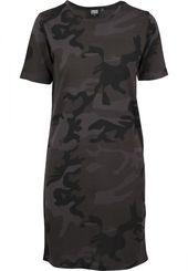 Urban Classics T-Shirt Damen, Khaki / Schwarz, Größe 36 – Products