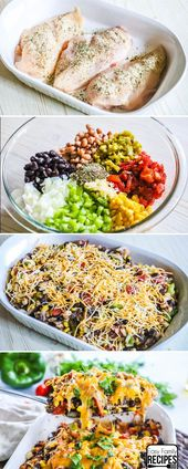Family LOVES this recipe!  Cowboy Chicken is packed with tons of flavors and who…
