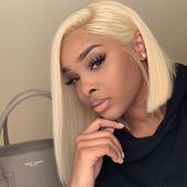 blonde bob wig