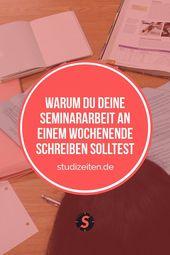 Seminararbeit im Studium – So schreibst du sie effektiv